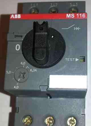 Автоматический выключатель MS116 4.0-6.3A