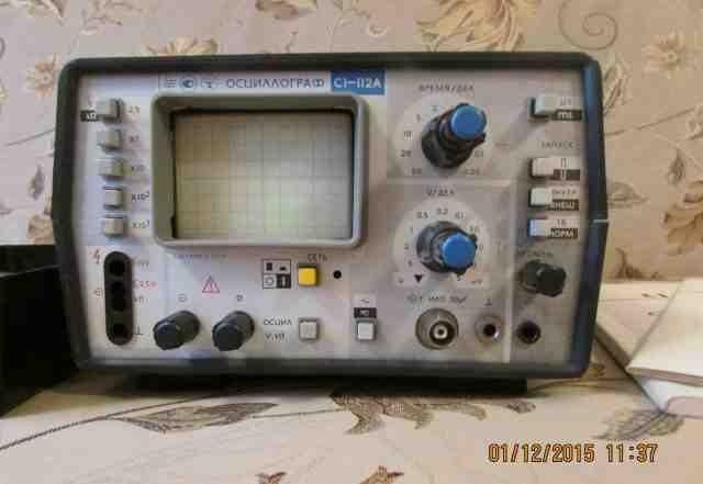 Осциллограф-мультиметр С1-112А