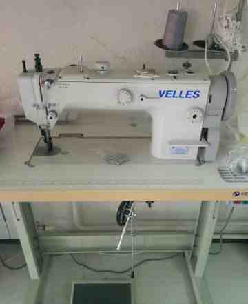 Промышленная швейная машинка для кожи и дубленок