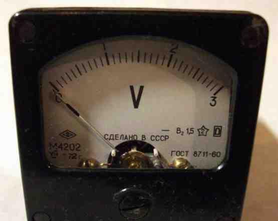 вольтметр М4202 3 v
