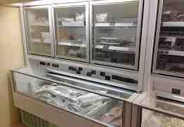 витрины, холодильные шкафы, горки, бонеты
