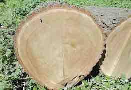 Колода для рубки из дубового пня