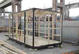 Изготовление мобильных офисов и вагон бытовок