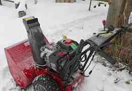 Снегоуборочная машина ручного привода
