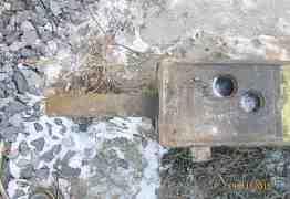 Гидромолот на экскаватор-погрузчик