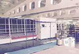 Автоматическая линия по производству стеклопакетов