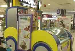 Оборудование и дикорации для продажи мороженого