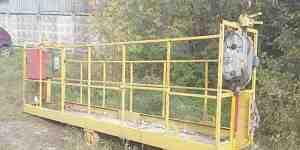 Люлька строительная фасадная
