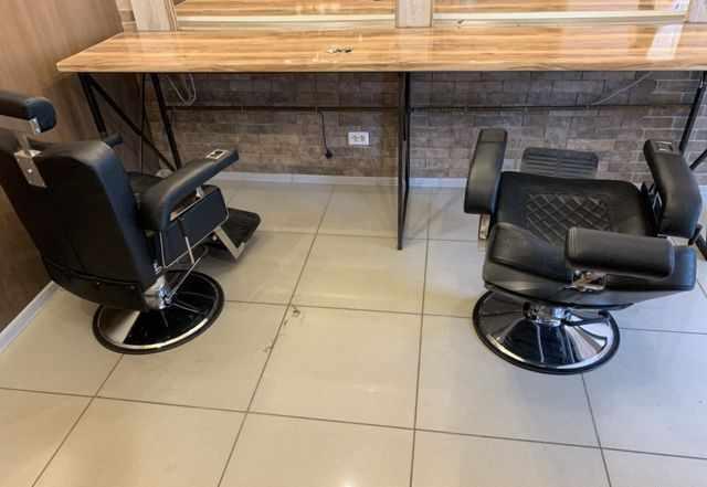 Мужские кресла+Мойка для Барбершопа