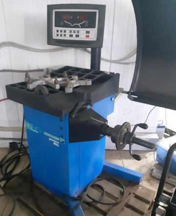 Шиномонтажное оборудование Hofmann, сход-развал