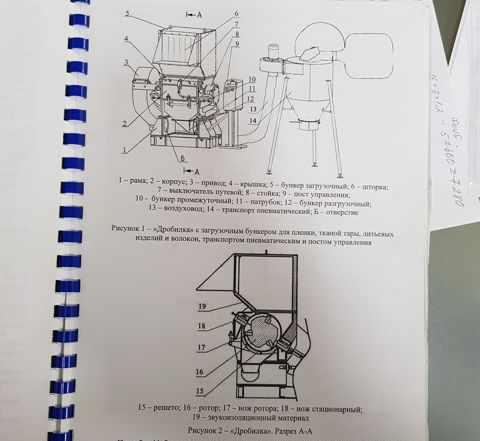 Дробилка - Измельчитель ипм