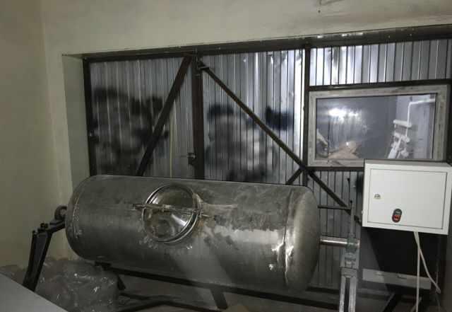Смеситель барабанного типа из нержавеющей стали