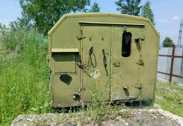 Продам кунг вагончик военный