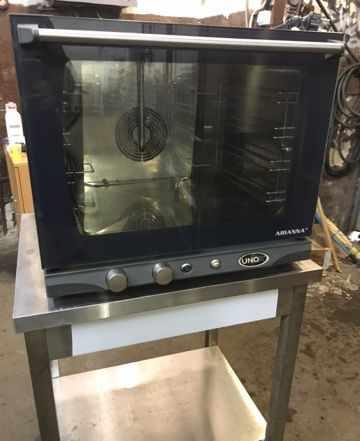 Конвекционная печь Unox arianna с пароувлажнением