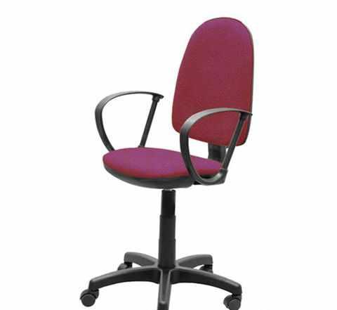 Офисные кресло красные «Престиж»