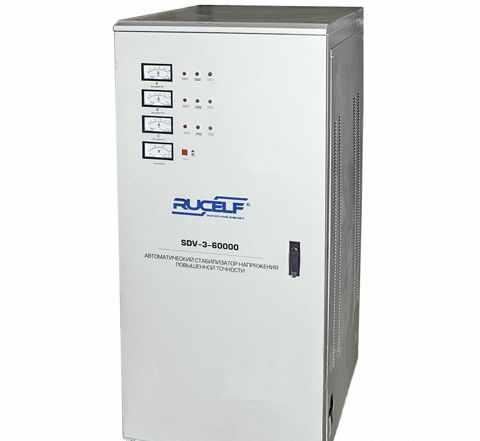 Стабилизатор напряжения SDV-3-60000 rucelf