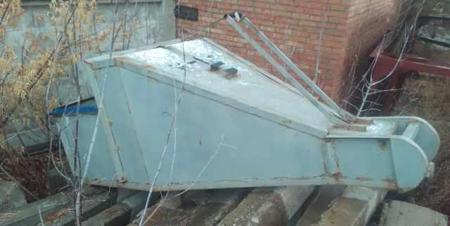 Бадья для бетона -Туфелька- 1,6м3