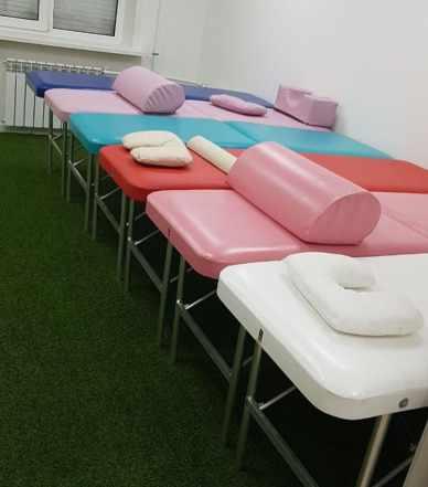 Косметологические массажные столы, кушетки