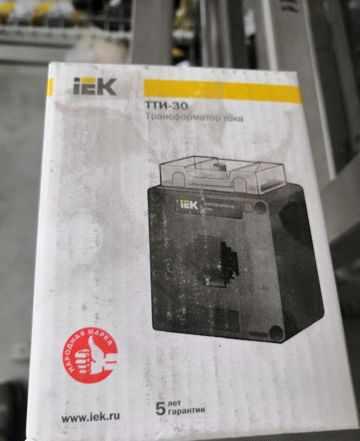 Трансформатор тока IEK тти-30