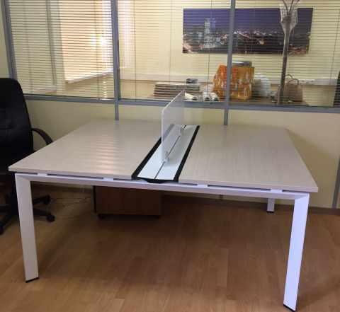 Стол офисный Феликс Тандем-М