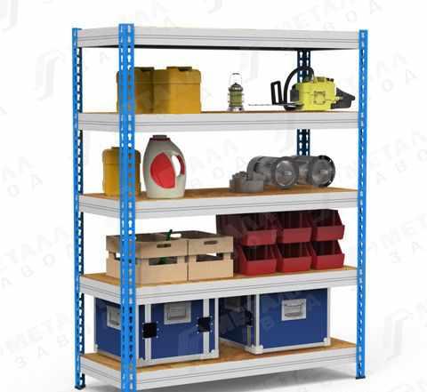 Стеллаж в гараж или на склад