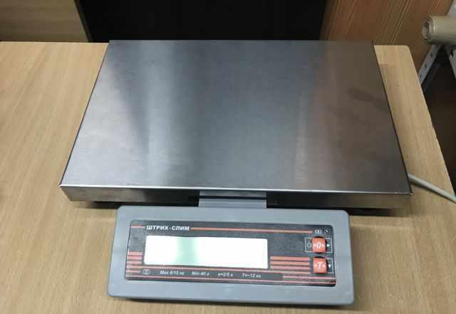 Весы электронные -Штрих-слим-