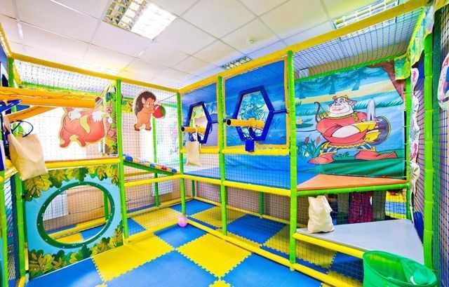 Детский игровой лабиринт «Пневмопушки»