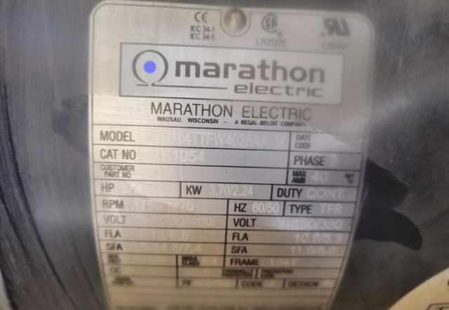 Электродвигатель marathon 184ttfw4026