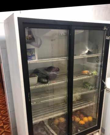 Холодильний шкаф двухкамерный