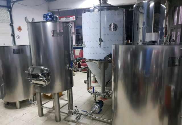 Пивоварня 500 литров, варочный порядок