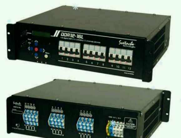 Диммер DDR 12-16 и световое оборудование