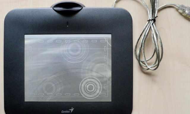 Планшет, ручной сканер