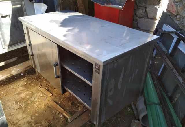 Тепловой стол из нержавейки. Б/У. Югославия