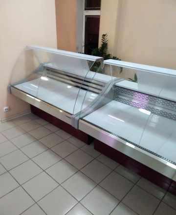 Холодильная витрина, аренда