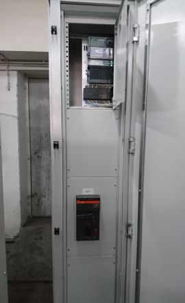 Шкафы электрические в сборе