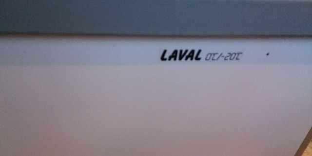 Бонета морозильная б/у laval