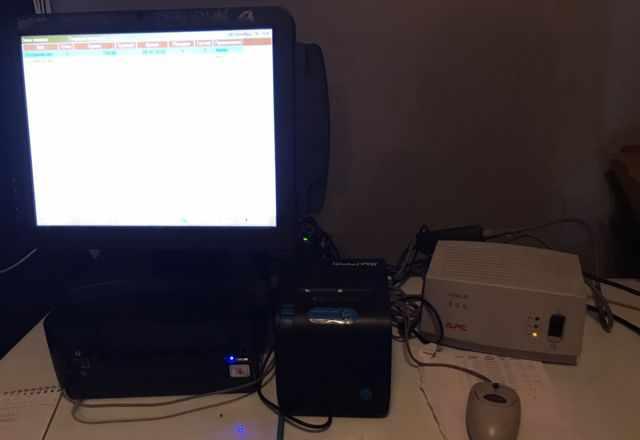 Кассовый моноблок с принтером