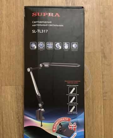 Светодиодная лампа, светильник Супра SL-TL317