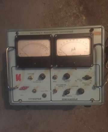Вакуумметр ионизационно- термопарный