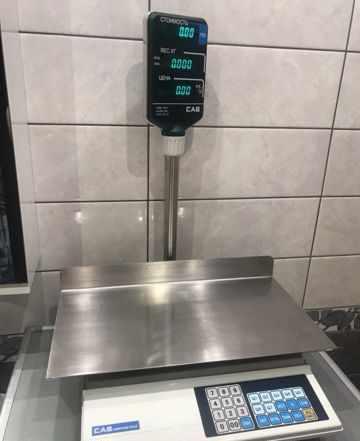 Весы от фирмы Cas