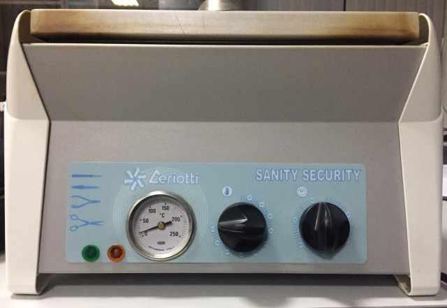 Сухожаровой шкаф стерилизатор sanity security