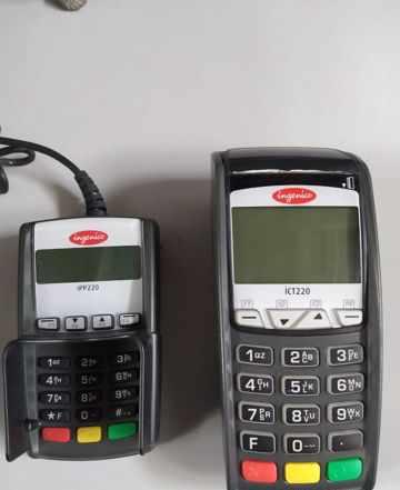 POS-терминал Ingenico ICT220 + Ingenico IPP220