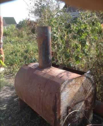 Буржуйка печь на дровах