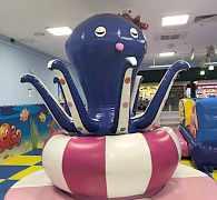 Игровой центр: лабиринт-горки-батут-бассейн с шари