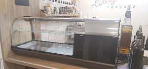 Настольная холодильная витринаCarboma вхсв-1,0 XL