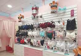Торговое оборудование для магазина женского белья