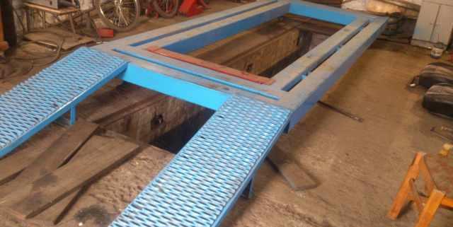 Стапель, оборудование для кузовных работ