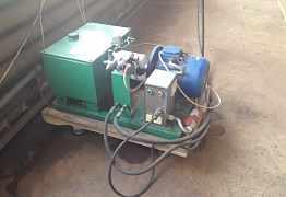 Гидравлический пресс с гидростанцией