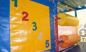 игровой лабиринт 9,6х3,7х2,8 м (шхгхв)