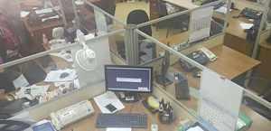 Рабочий стол бабочка на 4 места